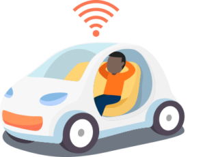 Smart speakers in car
