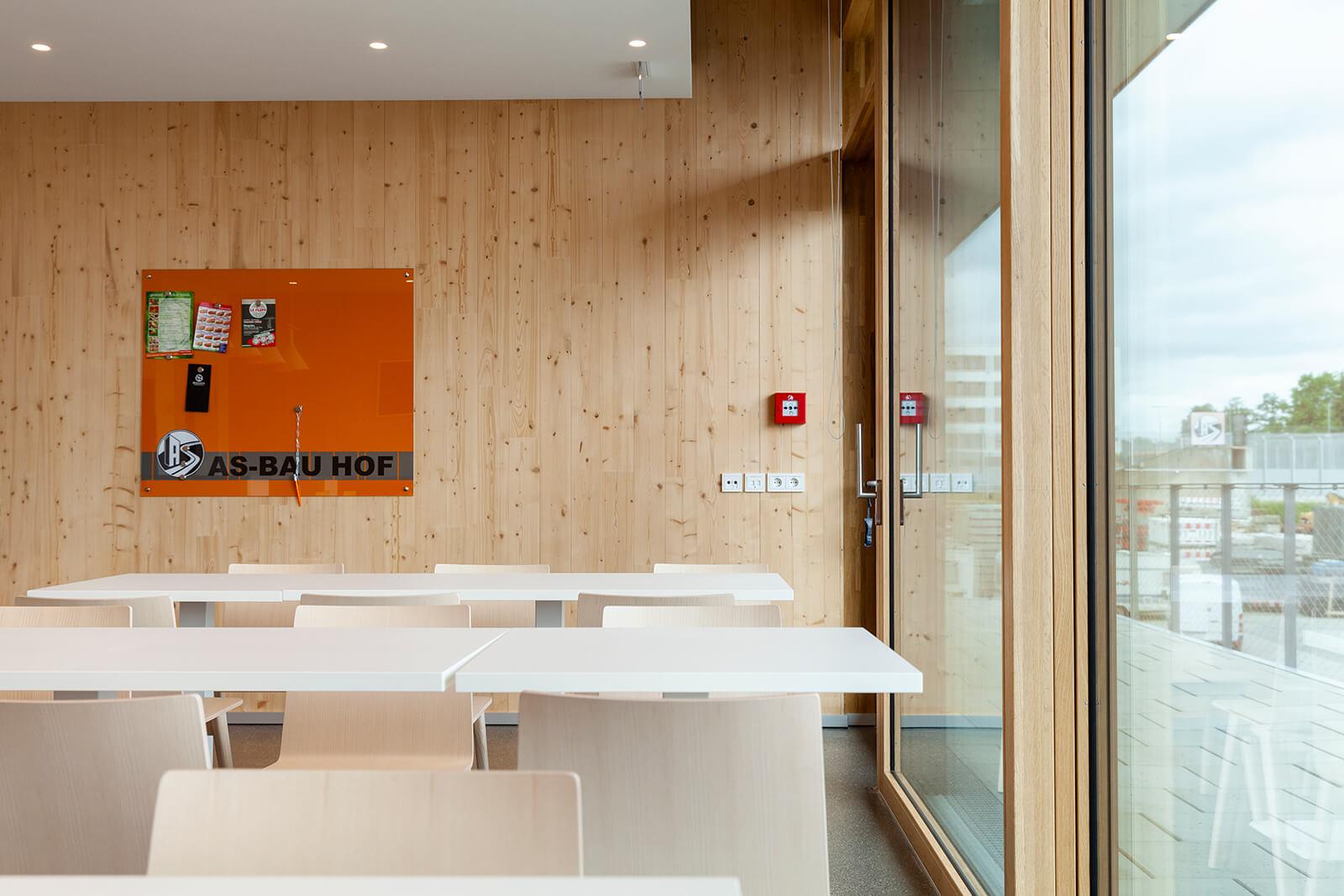 AS-Bau Hof Gemeinschaftsraum/Küche