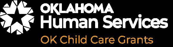 Oklahoma Human Services OK Child Care Grants Logo
