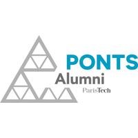 The logo of Ponts Alumnis