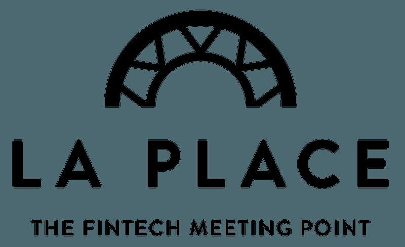 The logo of La Place