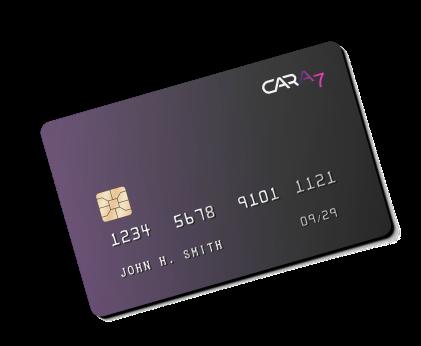 The Cara7 banking card