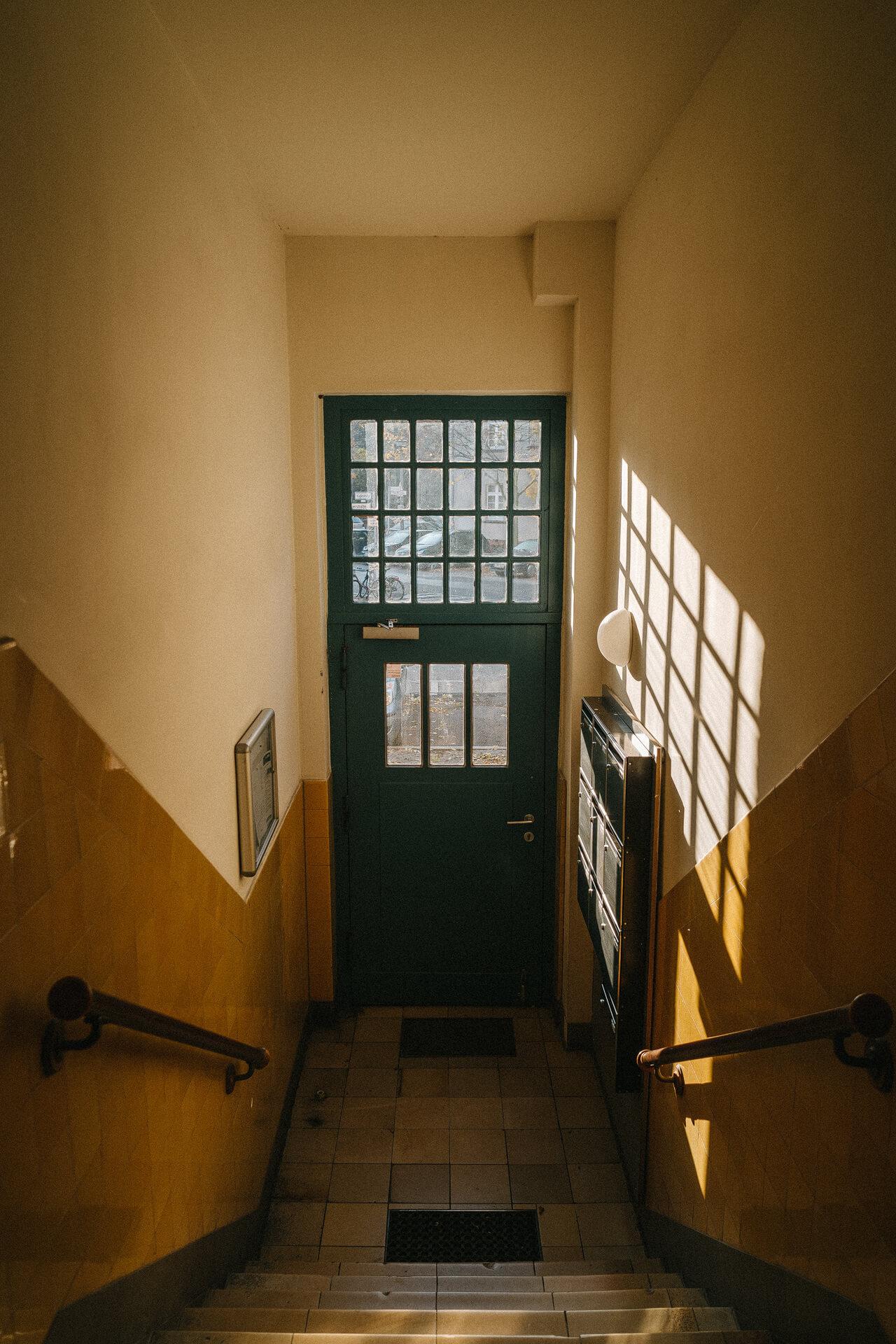 Interior apartment, lights, hall