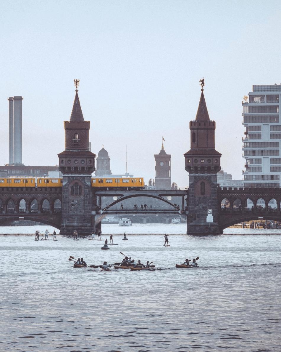 Oberbaumbücke, Oberbaum bridge, Ubahn