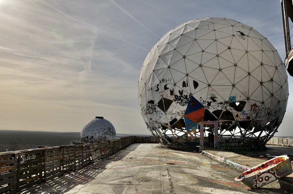 Teufelsberg, shot by Gero Camp. Stunning spot for photos and videos