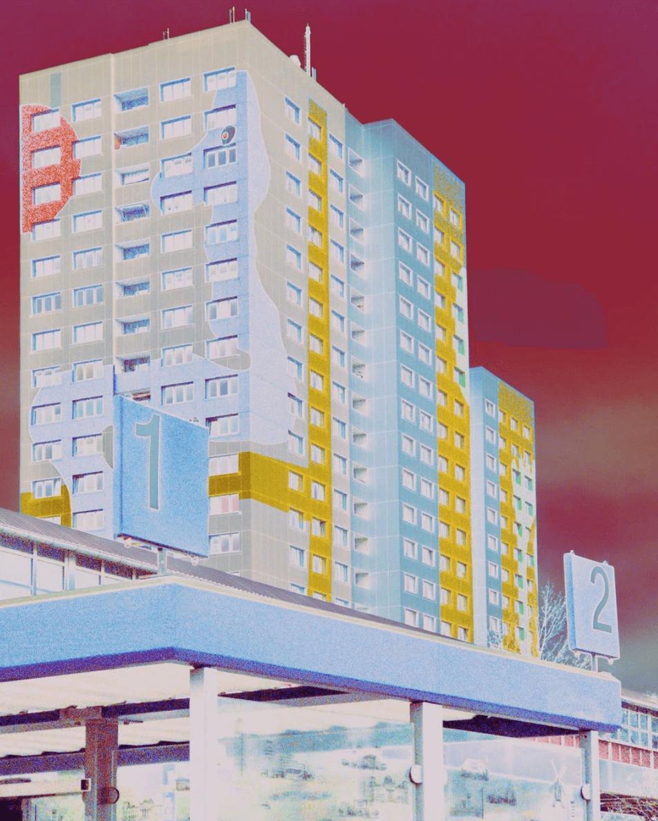 colourful Berlin apartment