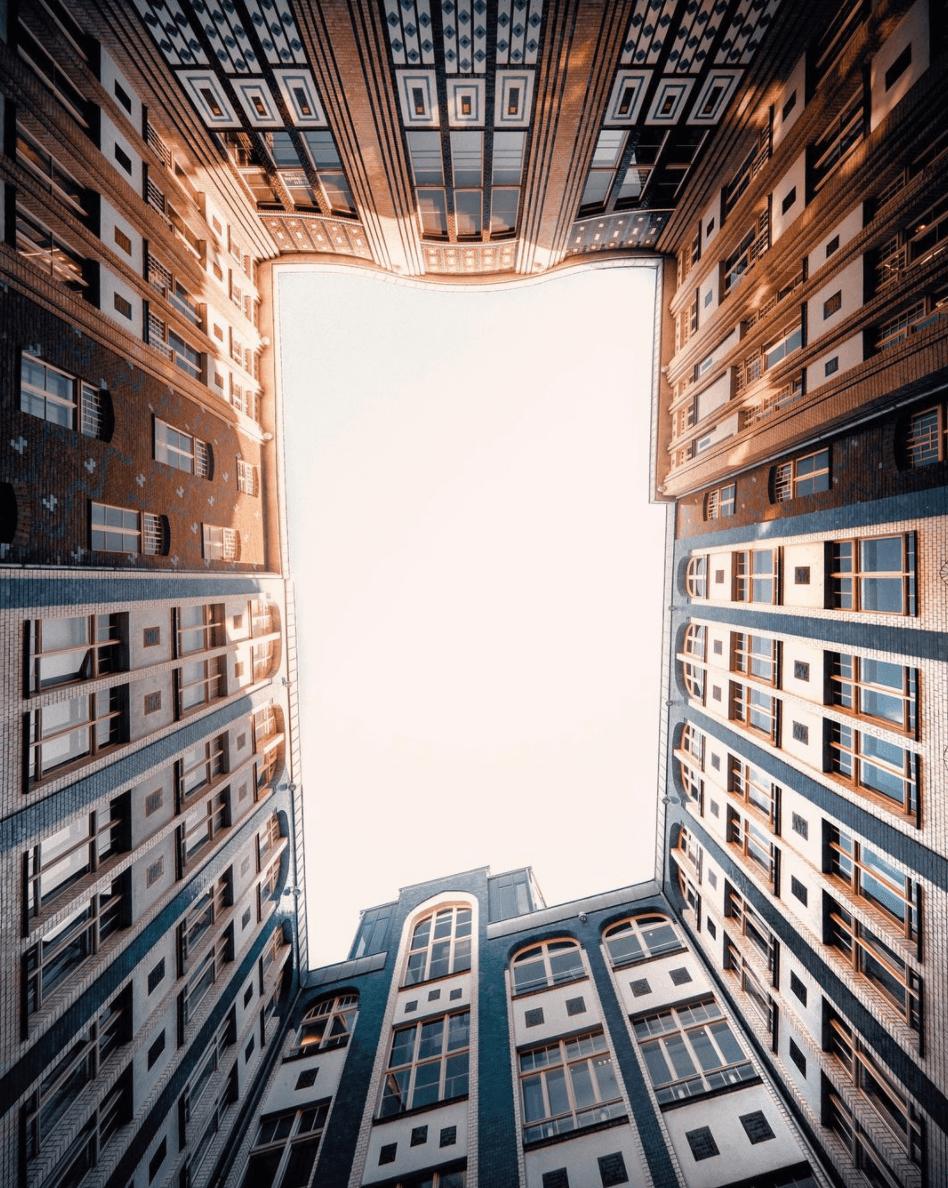 Hackesche Markt, building roof