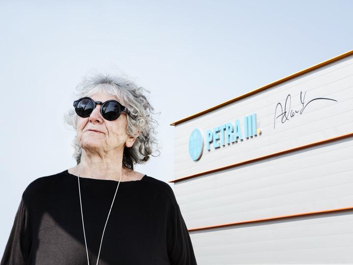 Nobel Prize winner Ada Yonath captured by Gesine Born