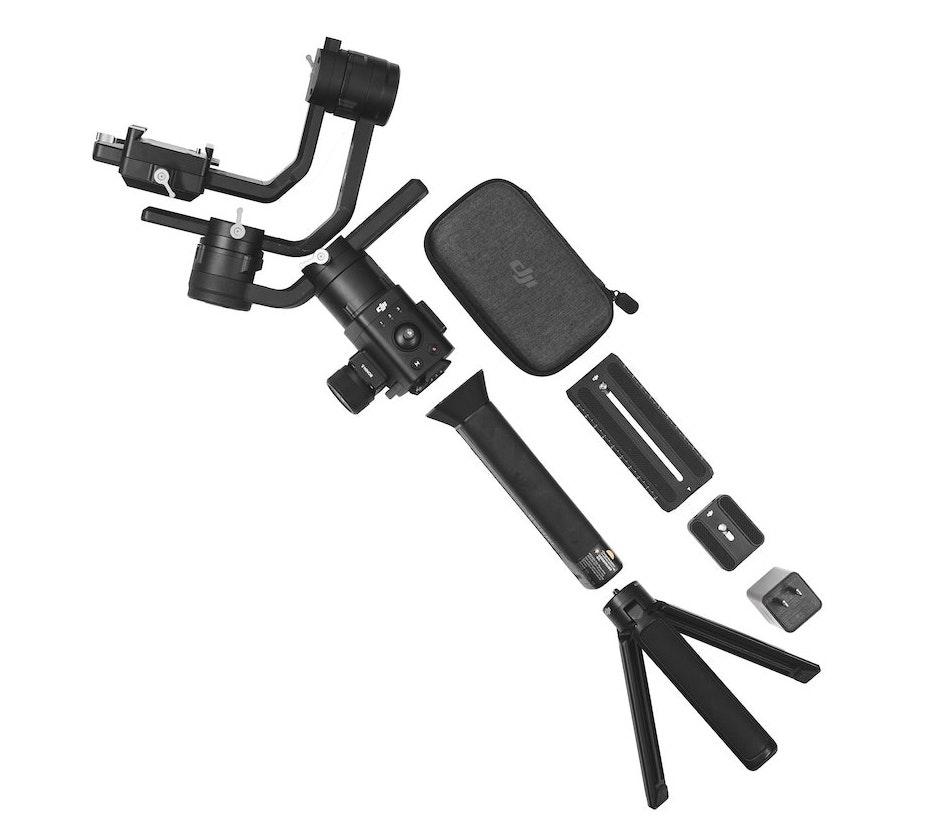 Rent DJI Ronin S gimbal stabiliser kit