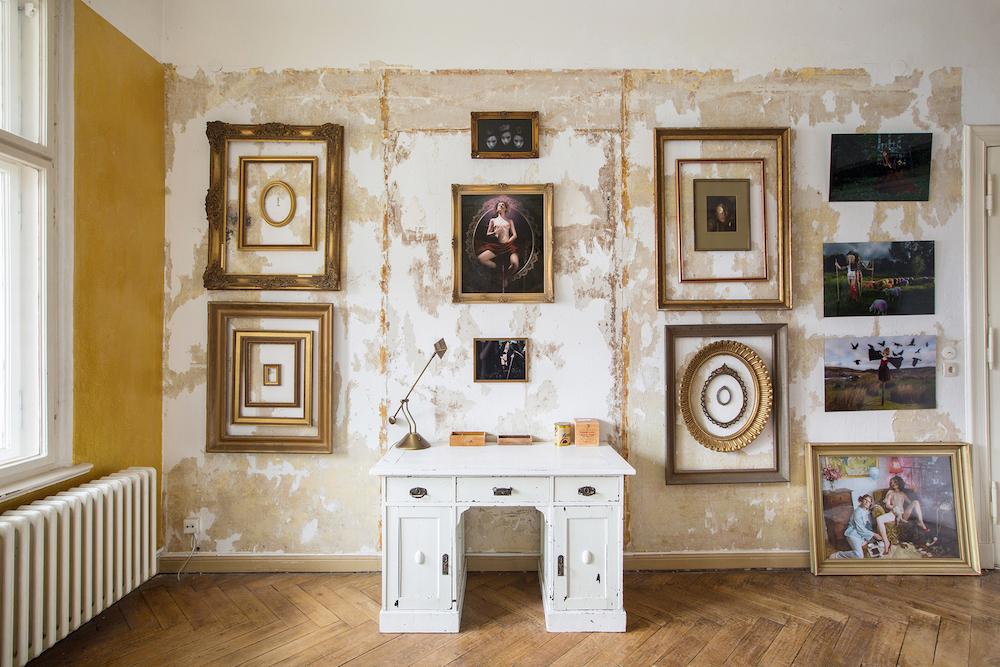Living Room artistic design in Berlin, germany