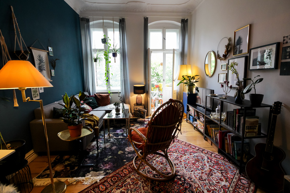 Eclectic apartment available for rent for your next shooting in Berlin, Germany