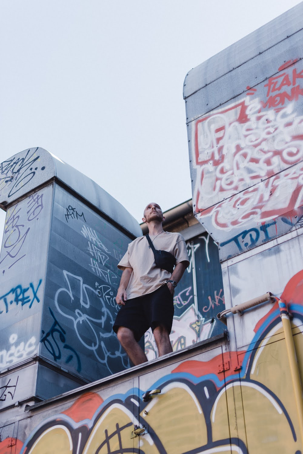 RAW-Gelände complex as one of the best shooting location in Berlin. Photo by Carmen Gondard