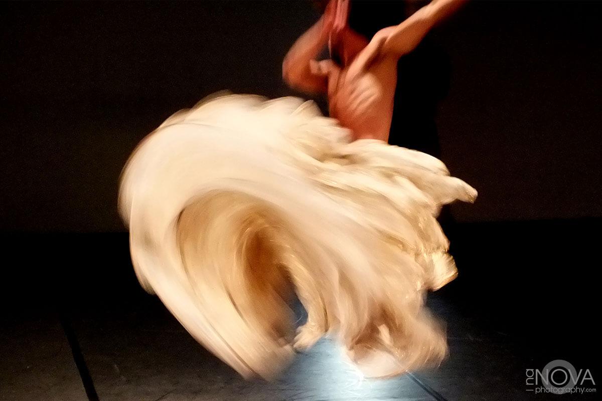 A motion capture of a dancer.