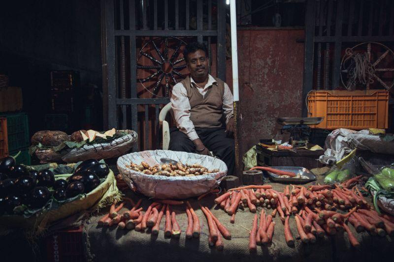 Vegetables market, shot by Chris Bu, filmmaker on Beazy