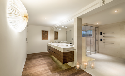 Rent your bathroom for film productions and photoshoots via Beazy