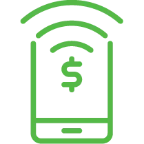 Bank payments icon