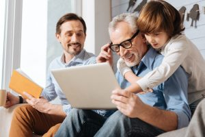 Arizona man turned 64 with child and grandchild looking at medicare options.