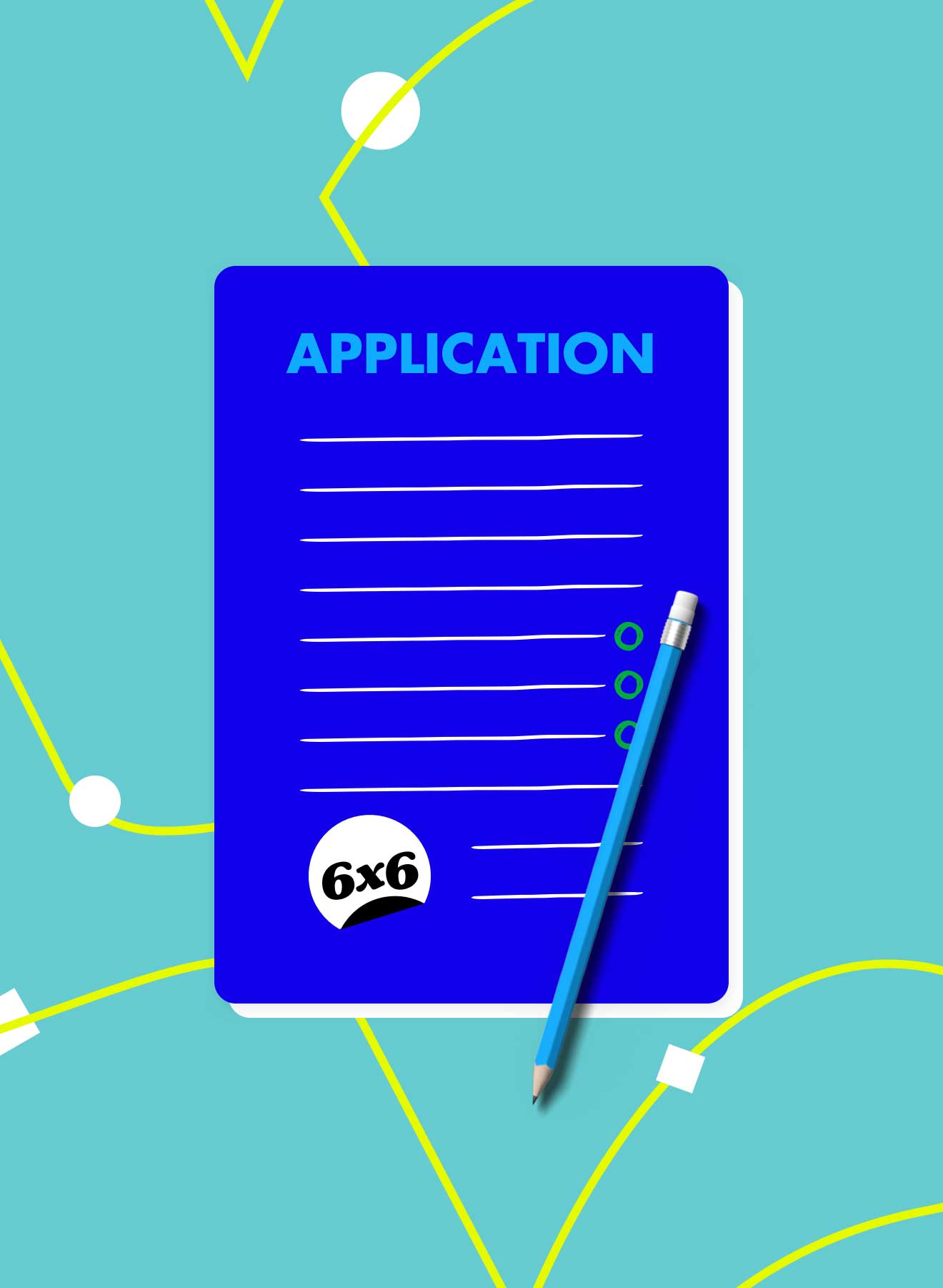 6x6 application information