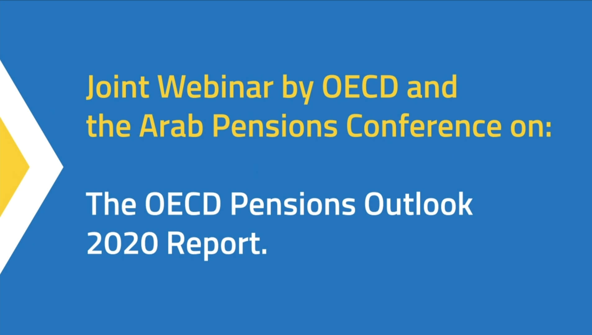 Tontine Pensions - The OECD Pensions Outlook 2020