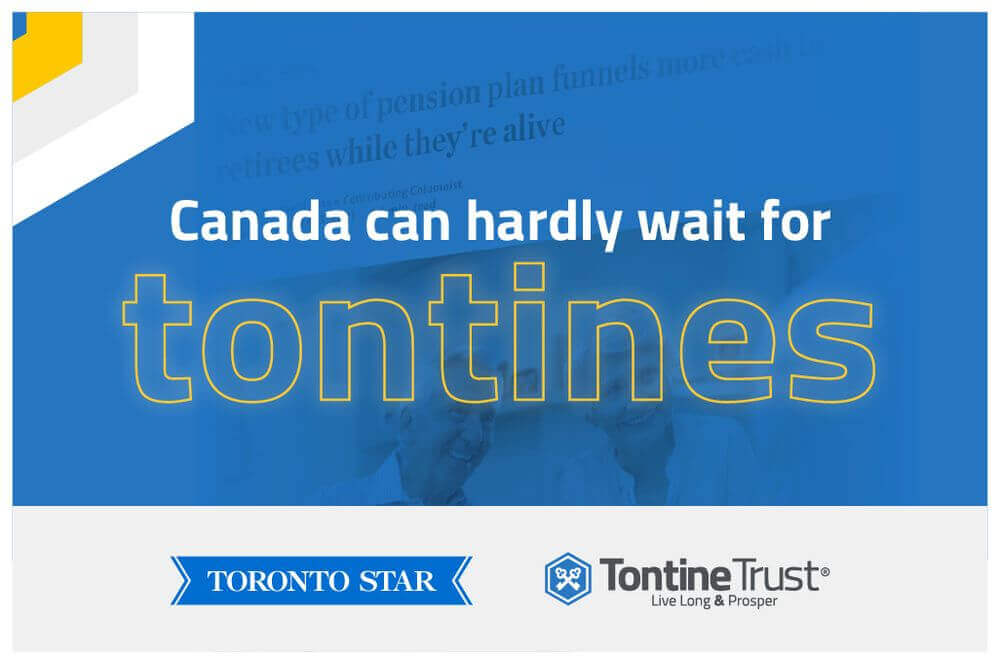 Following hard on the heels of the OECD recommending that tontine pensions are made mandatory, OECD member Canada is reshaping its pension system.