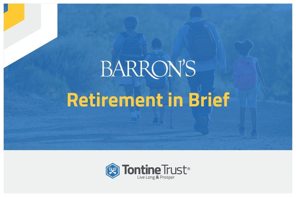 Barrons: Tontine Pensions to Lessen Longevity Risk