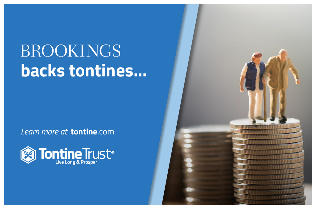 US think-tank Brookings has published a new book calling for pensions to be more equitable, highlighting that risk-sharing schemes such as tontines have an important role to play.