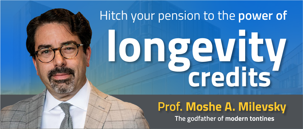 Hitch your pension to the power of longevity credits