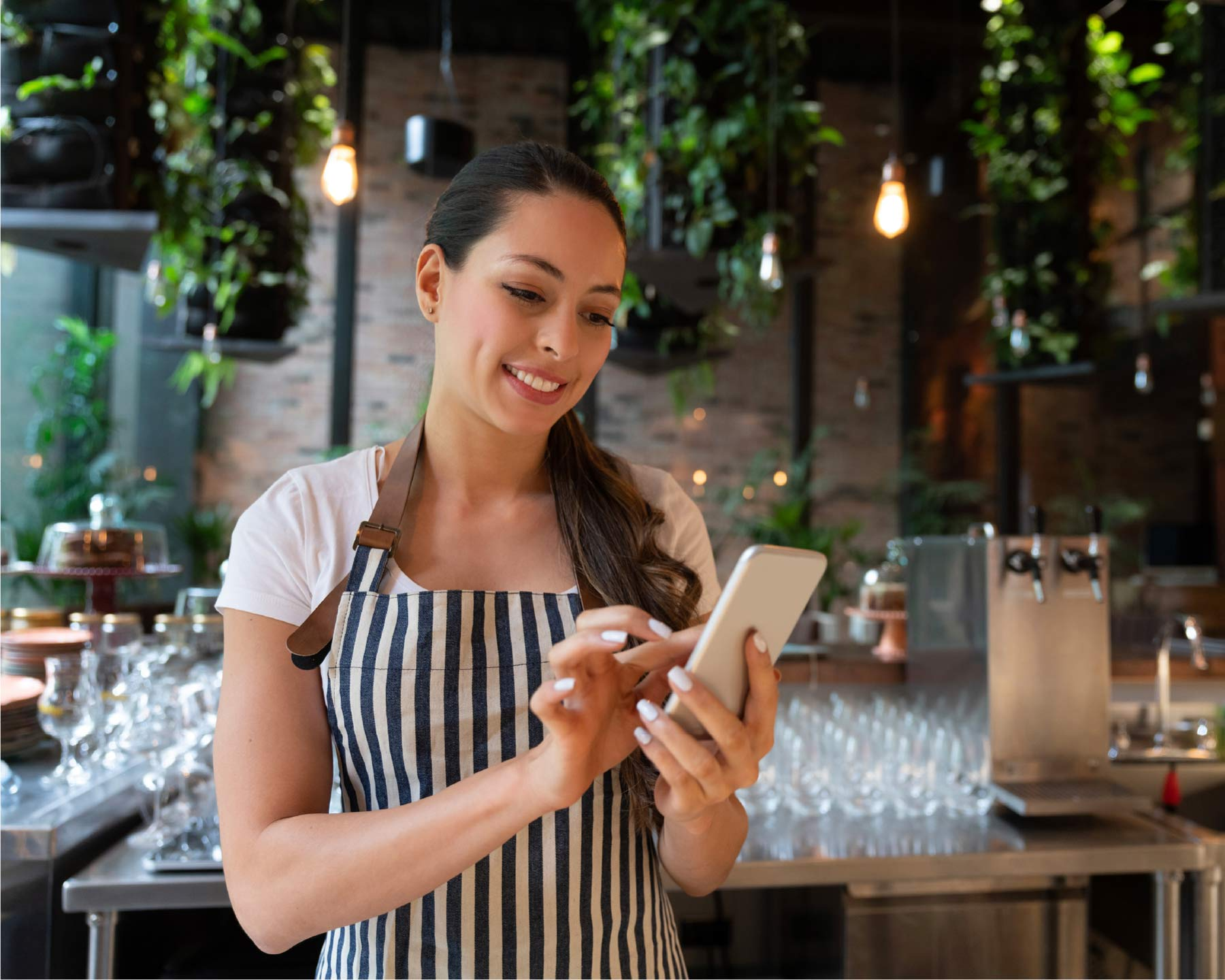 Gastronomer checks her Instagram account for important metrics like reach, followers and profile visits.