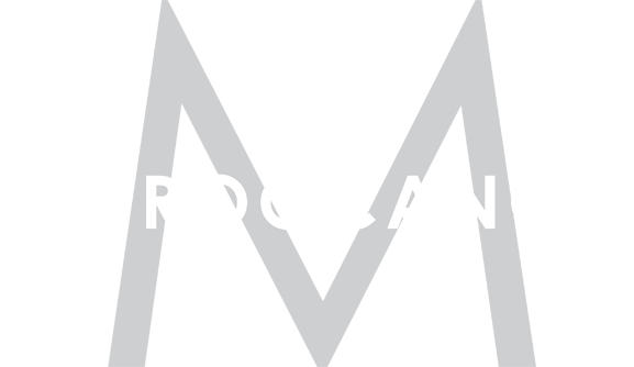 moroccanoil logo with large M. All text.