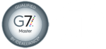 combination of the G7 master alliance symbol and the UL listing symbol
