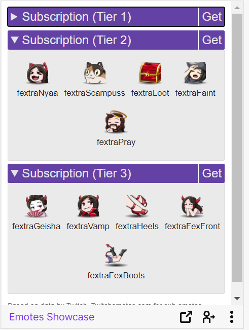 twitch subscription perks examples