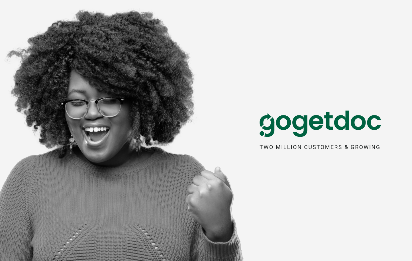 Today, we're excited to announce the new name of our Company, GoGetDoc.While our name has changed, our mission hasn't. We're more dedicated now than ever before to help all Americans, everywhere, find and use modern healthcare.