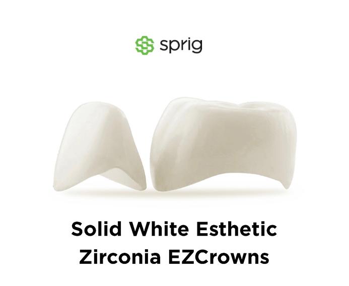 sprig white crowns