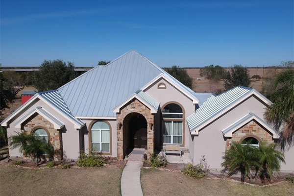 Roof installed by Edel Roofing and Construction Inc