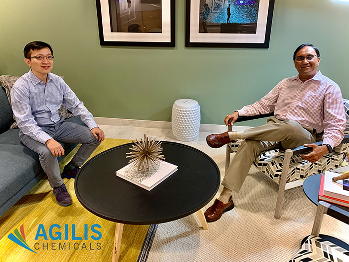 The internet has transformed everything. The chemical industry is next: Conversation with Ye Wang, VP of Engineering at Agilis