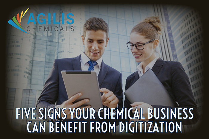 Five Signs Your Chemical Business Can Benefit from Digitization