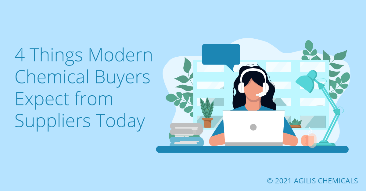 4 Things Modern Chemical Buyers Expect from Suppliers Today