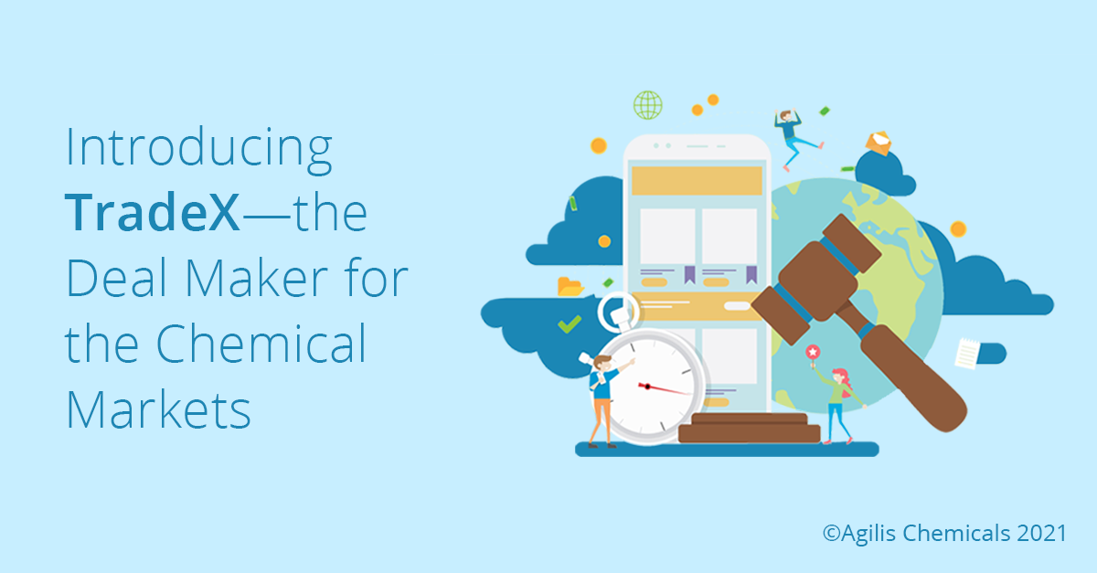 Introducing TradeX – the Deal Maker for Chemical Markets