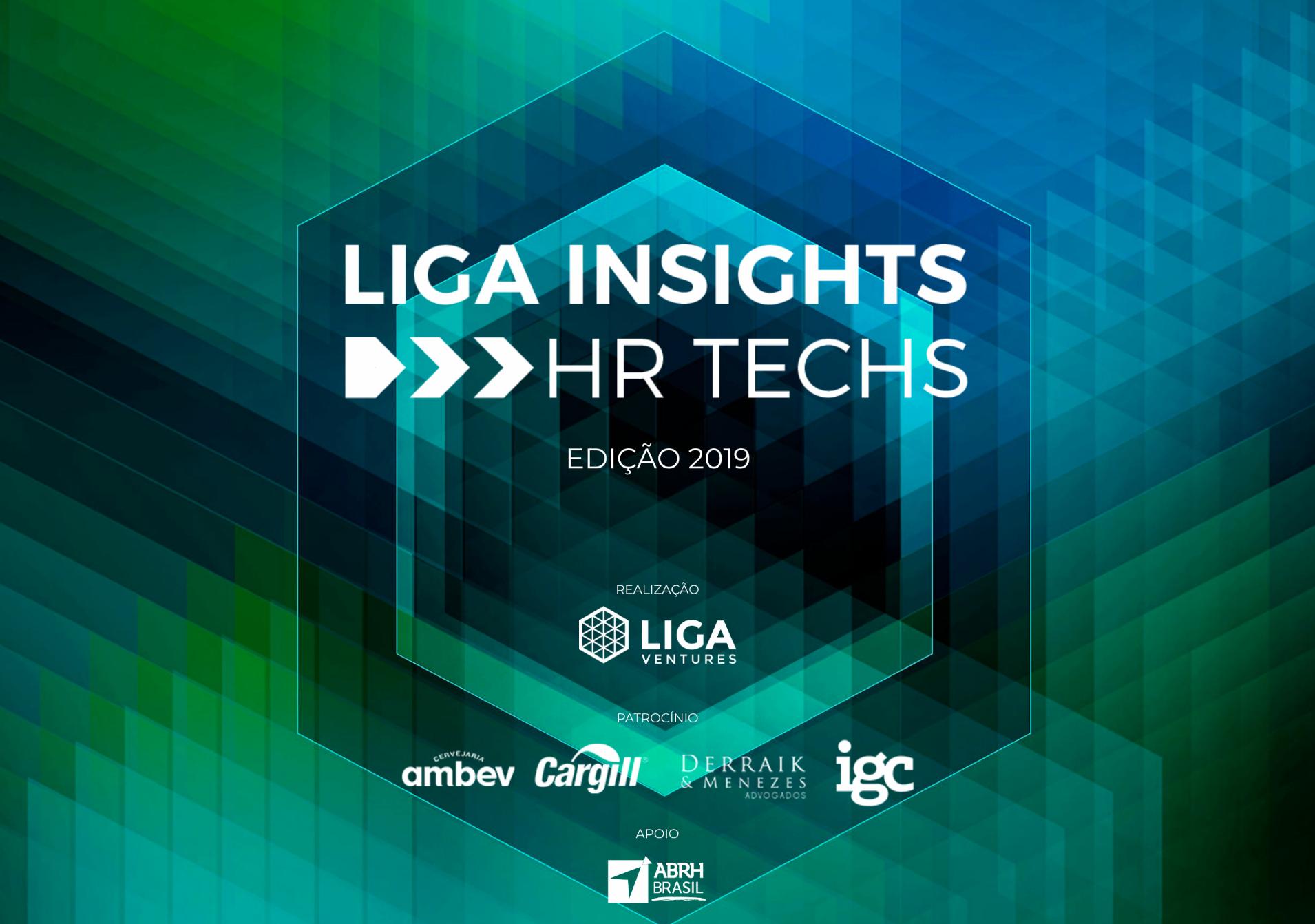 Mapa das HR Techs no Brasil