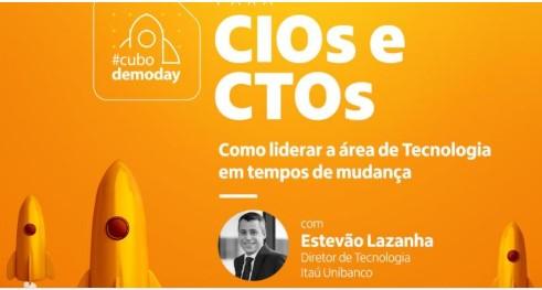 Eunerd no CUBO DemoDay - CIO & CTOs