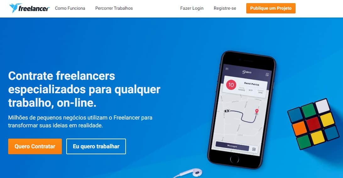 Sites para freelancer ti