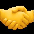 Emoji de Mãos se cumprimentando