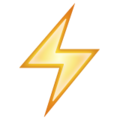 Emoji de Raio