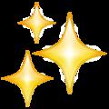 Emoji de Estrelinhas brilhando