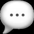 Emoji de Balão de Fala