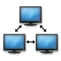 Emoji de Computadores Conectados