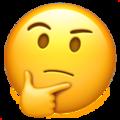Emoji de Expressão de Pensamento