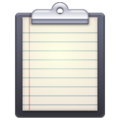 Emoji de Prancheta