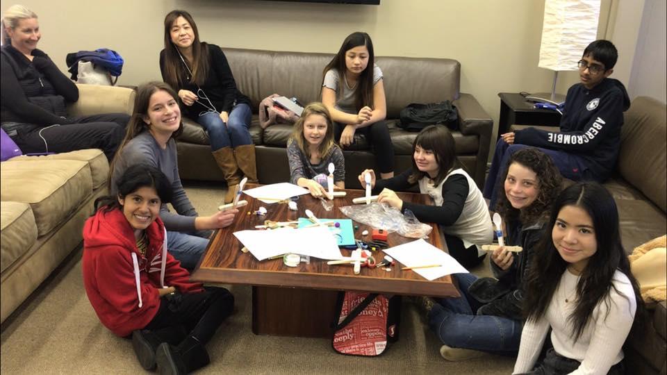 Girls in STEM Program