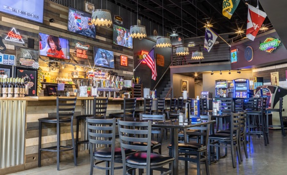 The Dakota Butcher Steakhouse dining area